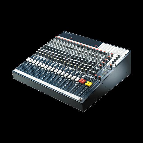 12 4 Soundcraft Fx16