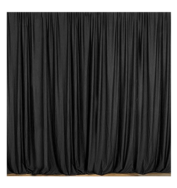 17 4 Black Curtain
