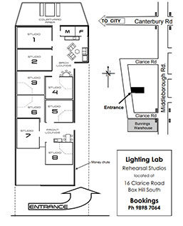 Lightinglab Map