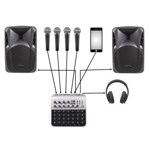12 1 2 Soundking 4 Ch Mixer V1